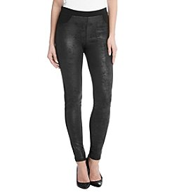 Karen Kane® Stretch Faux Leather Pants