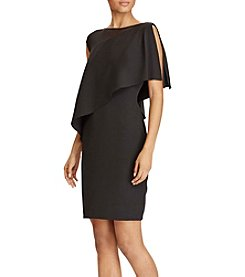 Lauren Ralph Lauren® Asymmetric Overlay Dress
