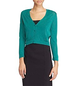 Lauren Ralph Lauren® Button Front Shrug