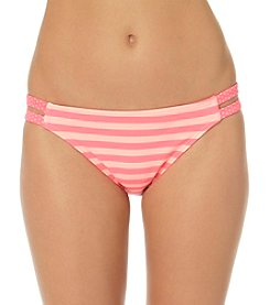 In Mocean® Spot Stripe Double Tab Side Bikini Bottoms