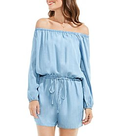Vince Camuto® Off Shoulder Romper