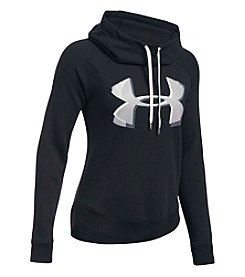 Under Armour® Favorite Fleece Twist Graphic Pullover
