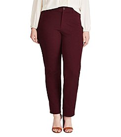 Chaps® Plus Size 4-Way-Stretch Pant