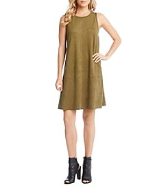 Karen Kane® Faux Suede A Line Dress