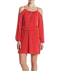 MICHAEL Michael Kors® Petites' Cold Shoulder Dress