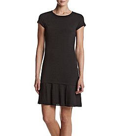 MICHAEL Michael Kors® Petites' Pleated Hem Dress