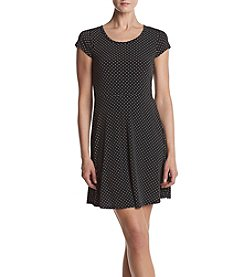MICHAEL Michael Kors® Petites' Fit & Flare Dot Dress