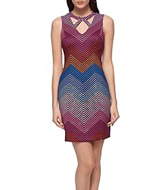 GUESS Geo Cut-Out Dress