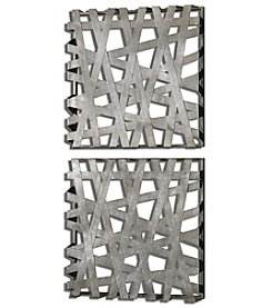 Uttermost Set of 2 Alita Squares Wall Art