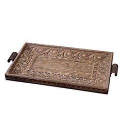 Uttermost Camillus Wood Framed Decorative Tray