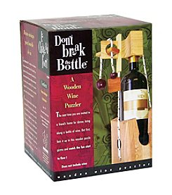 Family Games Inc. Don't Break the Bottle - Brain Teaser Puzzle