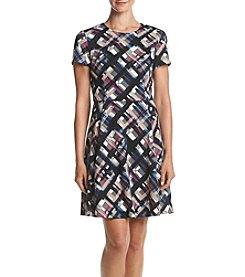 Jessica Howard® Printed Ponte Knit Dress