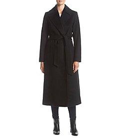 Forecaster Belted Wool Maxi Coat