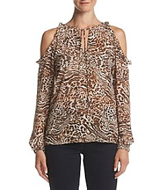 MICHAEL Michael Kors® Cold Shoulder Blouse