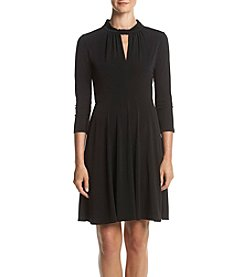 MICHAEL Michael Kors® Keyhole Neckline Fit and Flare Dress
