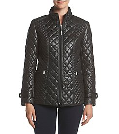 Chaps® Quilted Zip Front Jacket