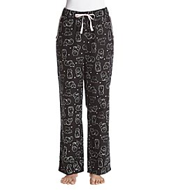 Relativity® Flannel Sleep Pants