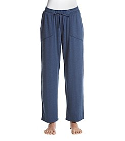KN Karen Neuburger Patch Solid Pajama Pants