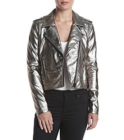 BLANKNYC® Metallic Coated Jacket