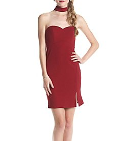 My Michelle® Choker Neckline Bodycon Dress
