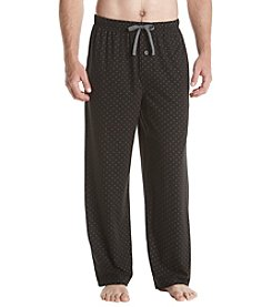 John Bartlett Statements Microdot Print Knit Sleep Pants