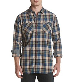 Ruff Hewn Long Sleeve Plaid Workshirt