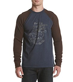Ruff Hewn Long Sleeve Screen Tee