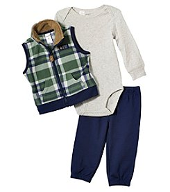Carter's Baby Boys' Plaid Vest Set
