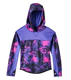 Exertek® Girls' 4-6X Print Fleece Pullover Hoody