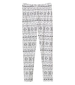 Miss Attitude Girls' Print Leggings