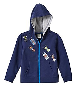 Mix & Match Boys' 2T-4T Long Sleeve Fleece Hoodie