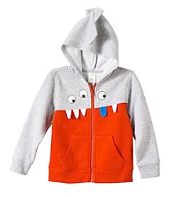 Mix & Match Boys' 2T-4T Long Sleeve 3D Monster Zip Hoodie