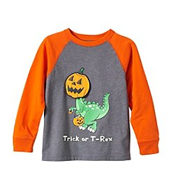 Mix & Match Boys' 2T-4T Trick or T-Rex Graphic Raglan Tee