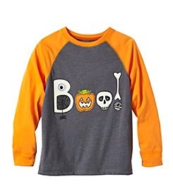 Mix & Match Boys' 4-8 BOO Graphic Raglan Tee