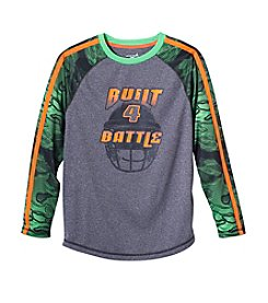 Exertek® Boys' 8-20 Long Sleeve Raglan Graphic Tee