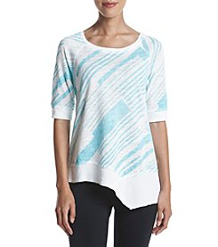 Calvin Klein Performance Asymmetric Hem Top