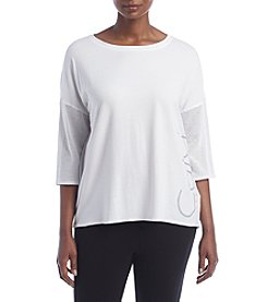 Calvin Klein Performance Plus Size Logo Tee