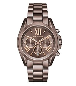 Michael Kors® Women's Oversized Bradshaw Sabletone IP Watch