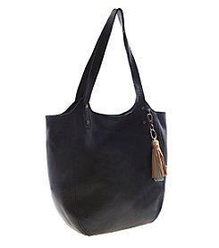 The Sak® Tansy Leather Black Tote
