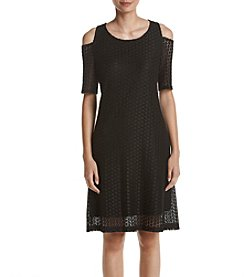 Nine West® Dot Lace Dress