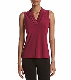 Anne Klein® Pleat Top