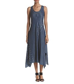Ivanka Trump® Grommet Denim Dress