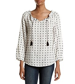 Ivanka Trump® Peasant Top