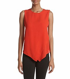Ivanka Trump® Layered Hem Blouse