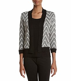 Ivanka Trump® Stripe Cardigan