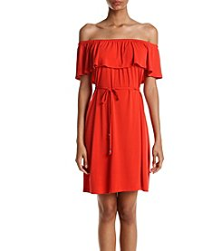 Ivanka Trump® Off-Shoulder Dress