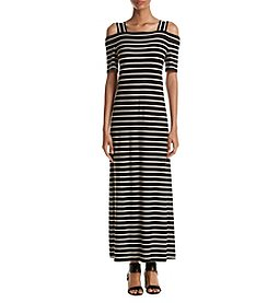 Nine West® Off Shoulder Maxi Dress