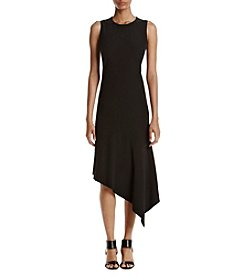 Anne Klein® Asymmetrical Hem Dress
