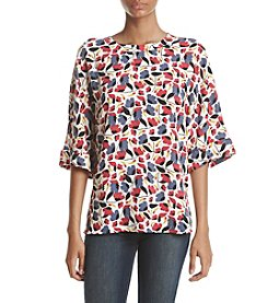 Anne Klein® Cuff Sleeve Blouse