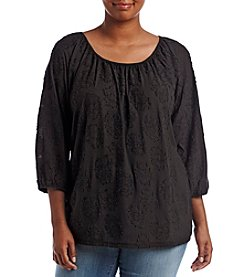 MICHAEL Michael Kors® Plus Size Blouson Gathered Top